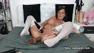 German Mature Crazy - Hot Solo Video
