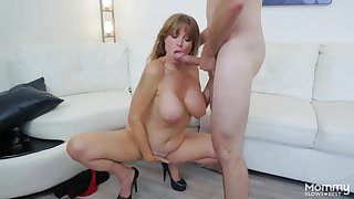 Locate and ball sucking milf with a nice set of big jugs