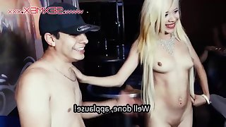 Bar Porn - slutty Latina Janeth Rubio fucked in public bar