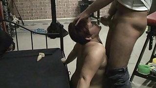 Cum in the face ...
