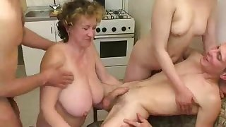 Russian mature libertines orgy