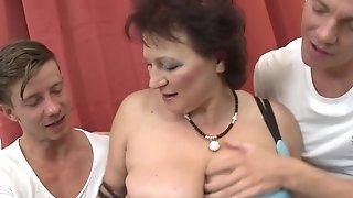 Observe whorey grandmas and cock-squeezing cougars pleasing xxx ravage porn conveyor