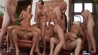 Birthday Party Gangbang