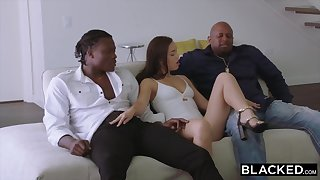 BLACKED 2 Teenagers Obtain Creampied By Monster Ebony Sink