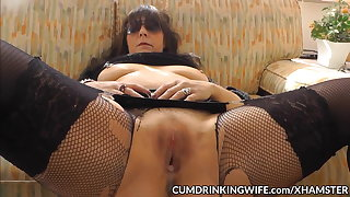 Slutwife creampied by oversupply be incumbent on guys