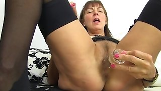Obscene grannie Remembers All Her paramours poking Myself Here fuck stick porn video