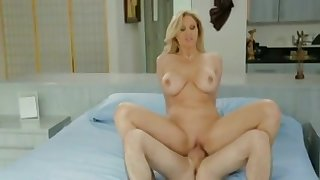 Tempting busty experienced female is befouled my dicks