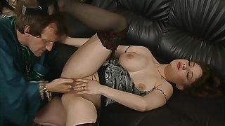 The sultan orders his brother to fuck the hot MILF.