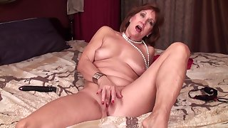 Ms Brook Solo - naughty GILF shows her cunt