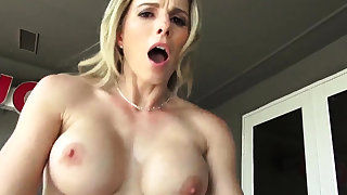 Teen fucked hard orgasm Cory Chase in Revenge On Your