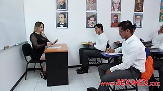 Loree Sexlove - Deprived Teachers - gangbang